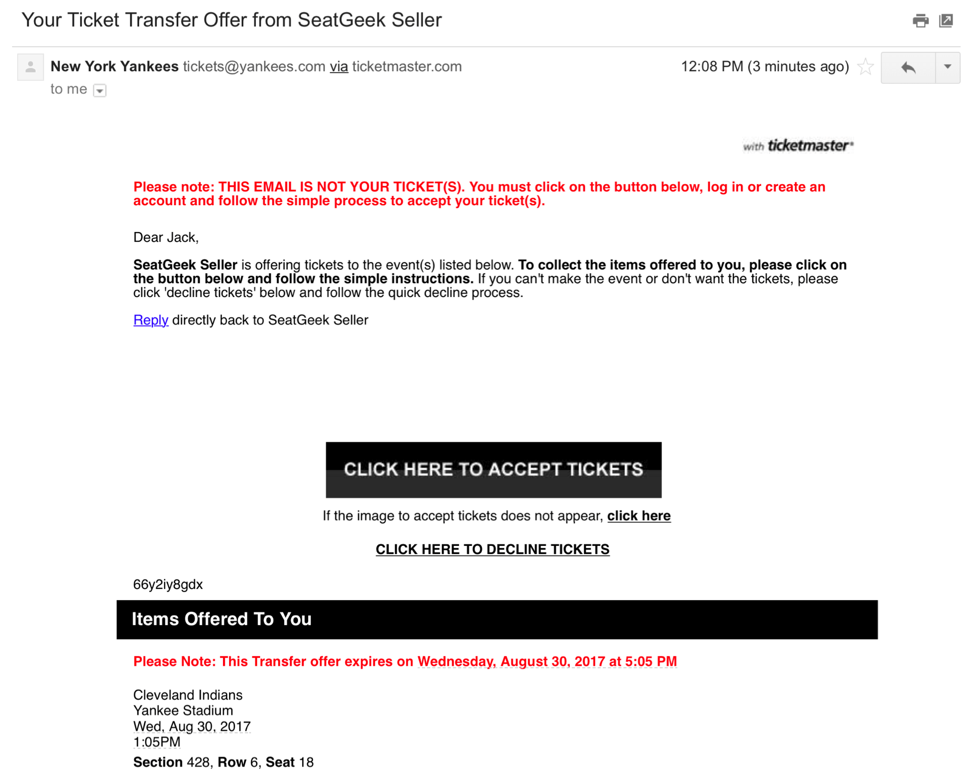 Ticketmaster phone number houston - Example Email On Desktop