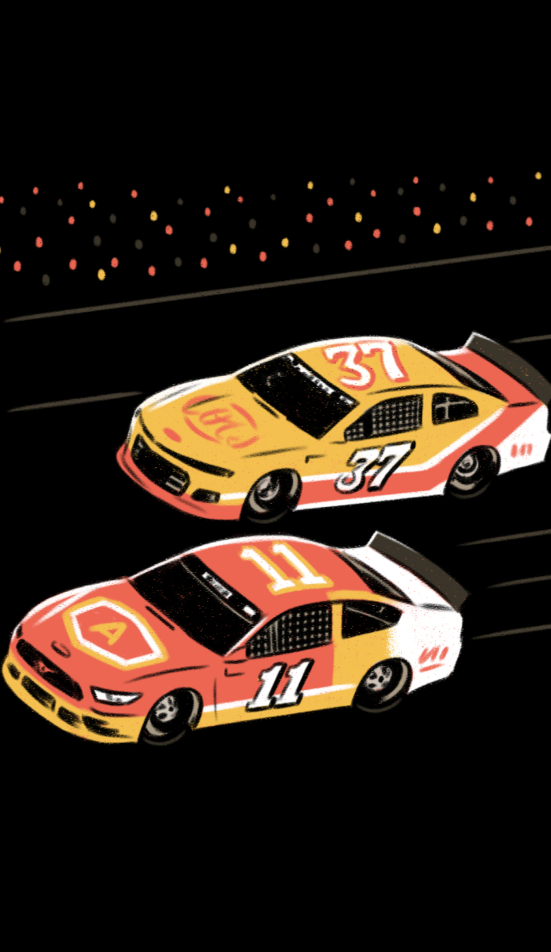 A AAA Texas 500 live event