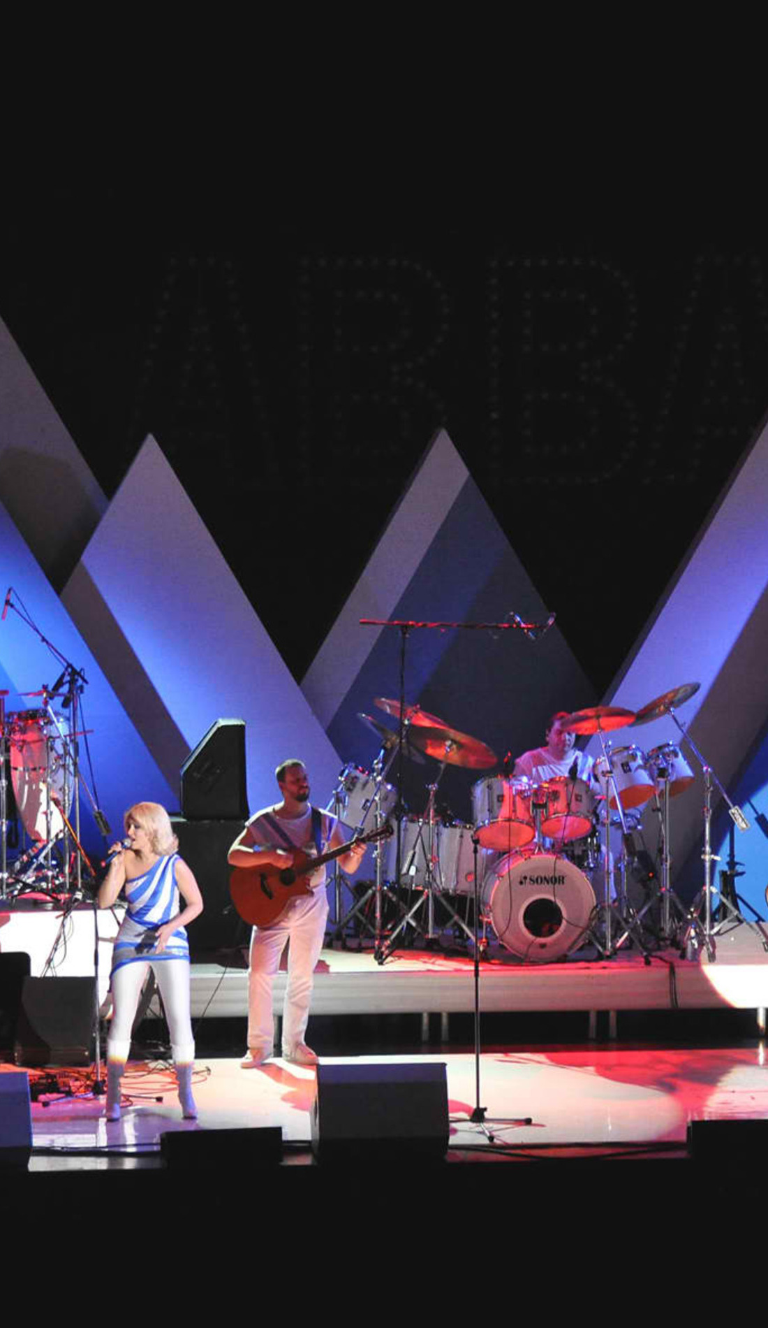 A Abba The Concert live event