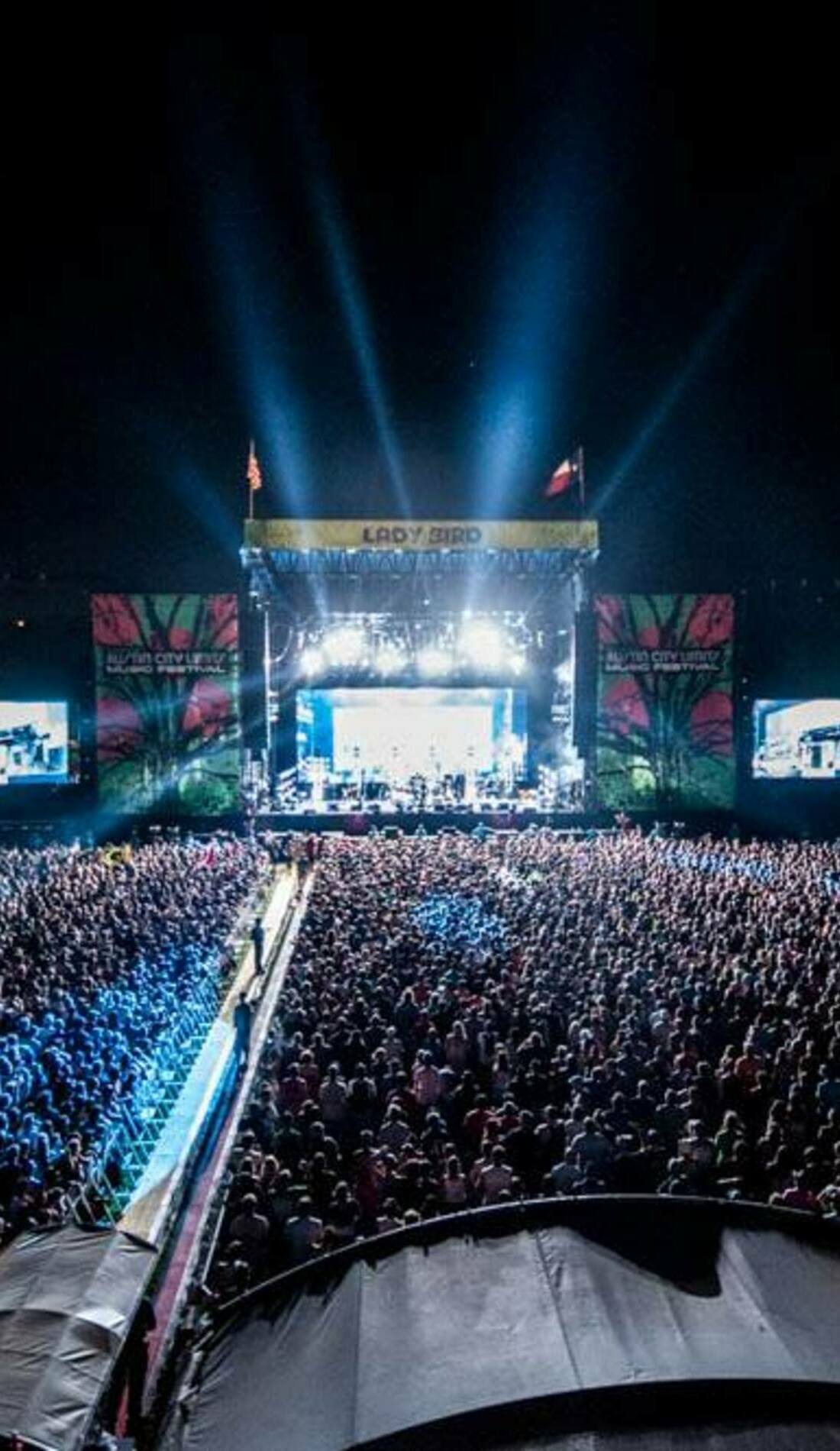 A ACL Fest Late Night Show live event