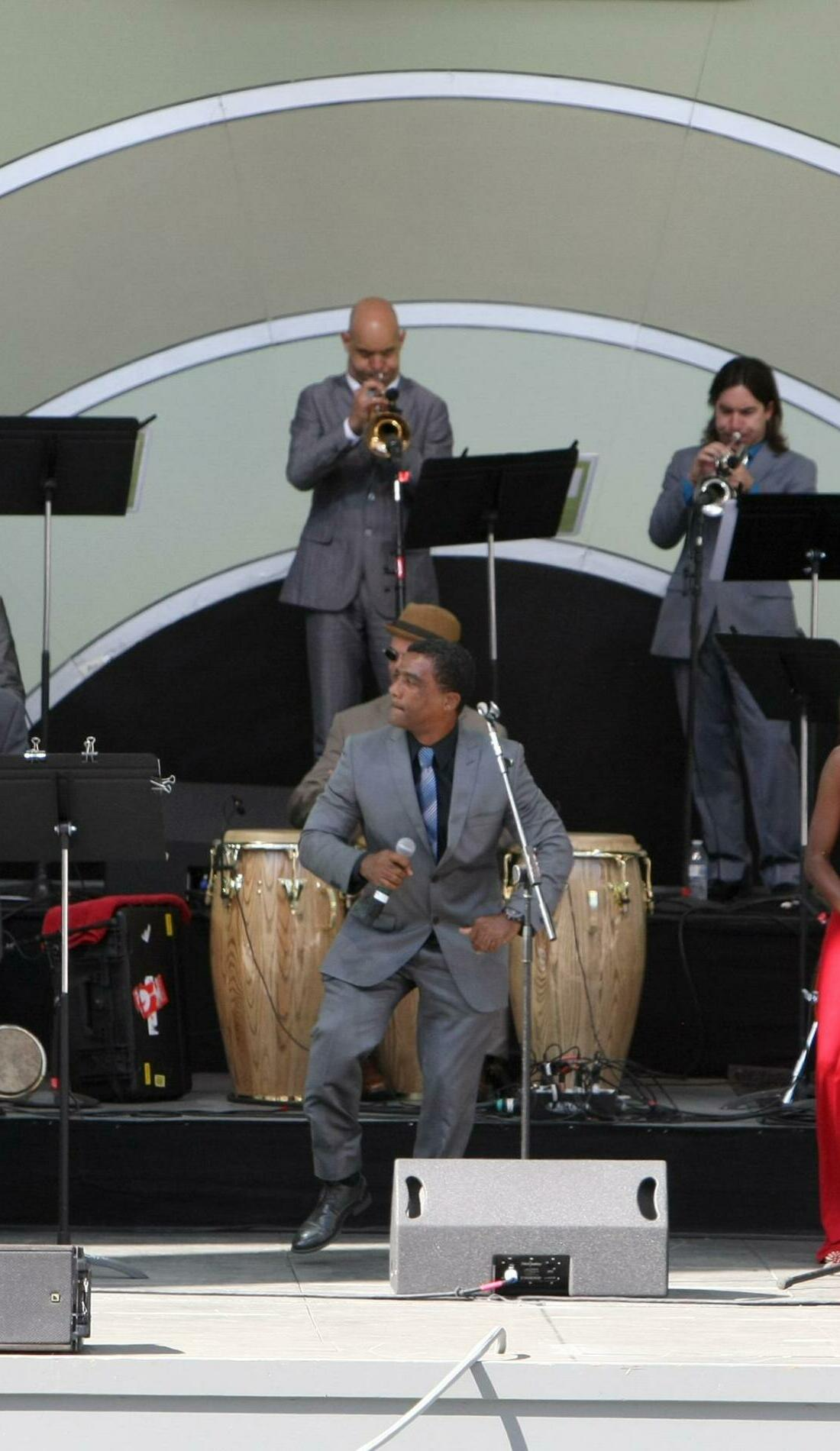A Afro-Cuban All Stars live event