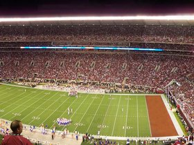 Alabama Crimson Tide at LSU Tigers Football