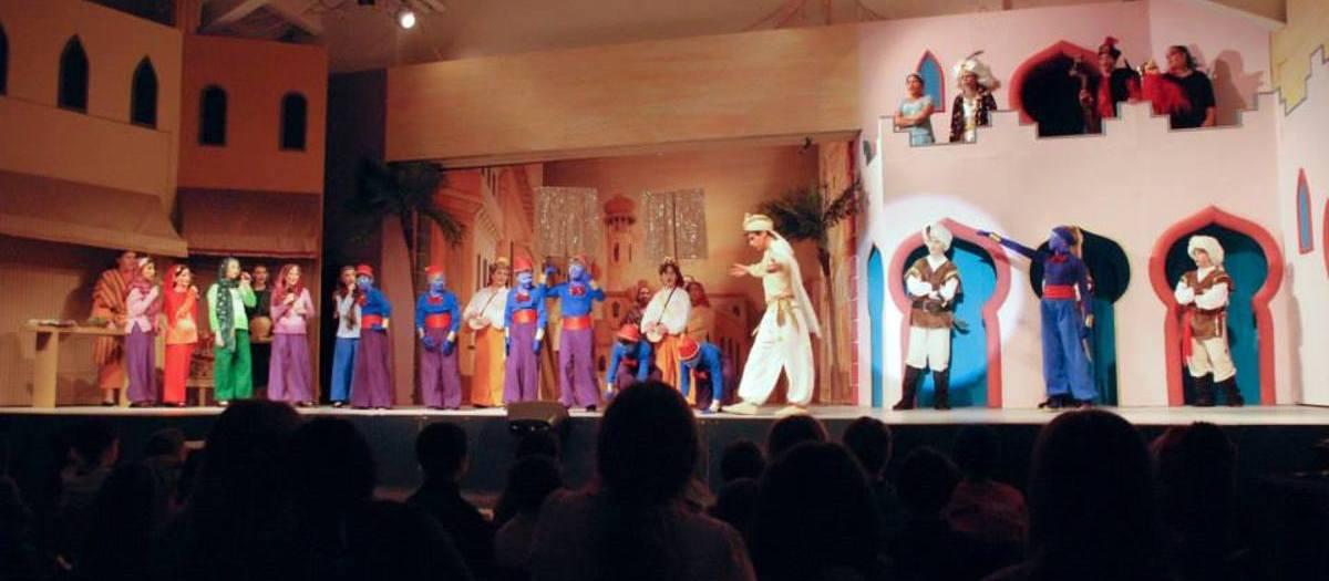 Aladdin, Jr. Tickets