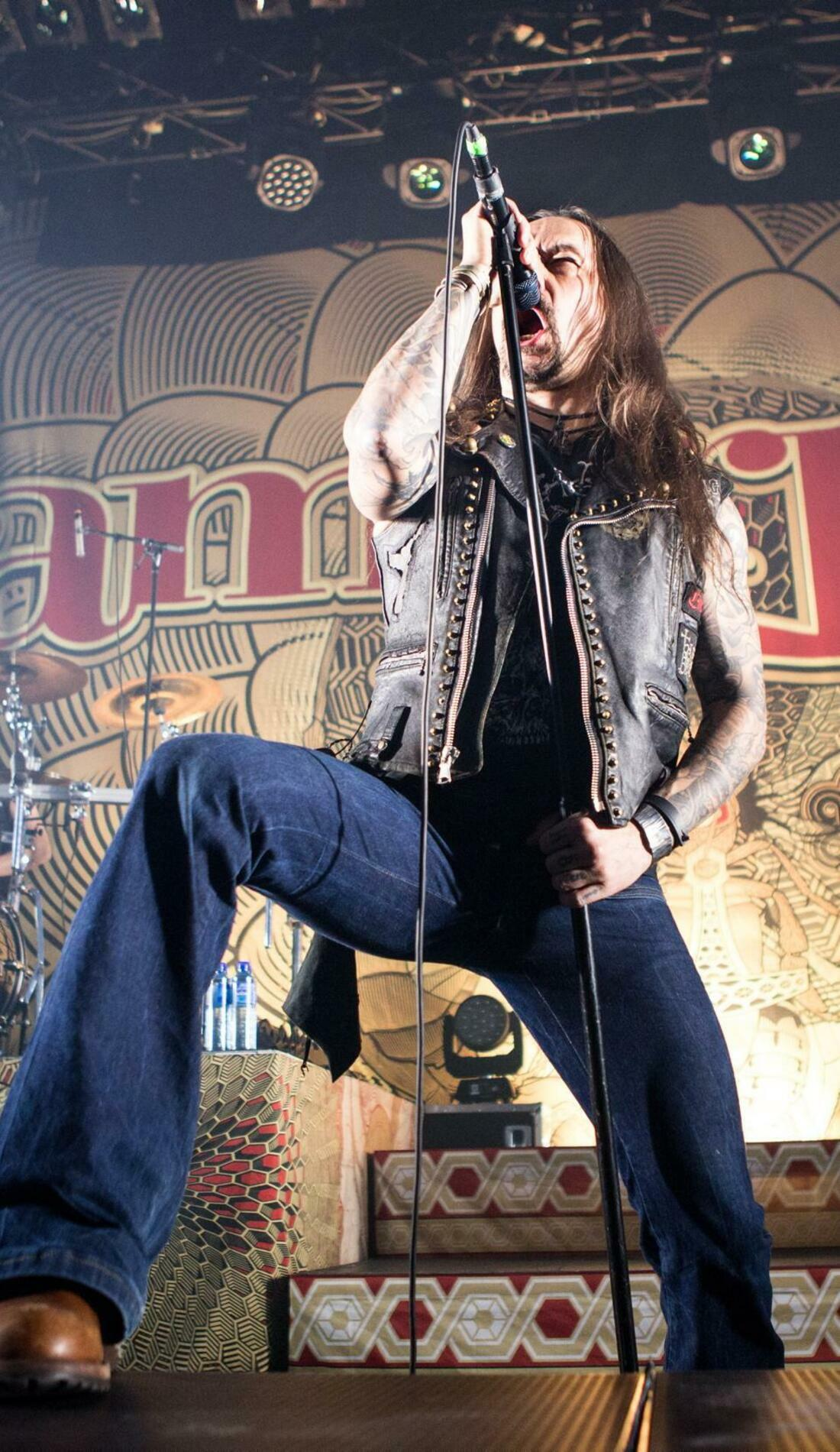 A Amorphis live event