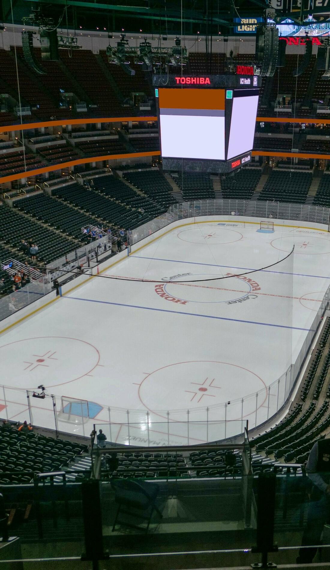 A Anaheim Ducks live event