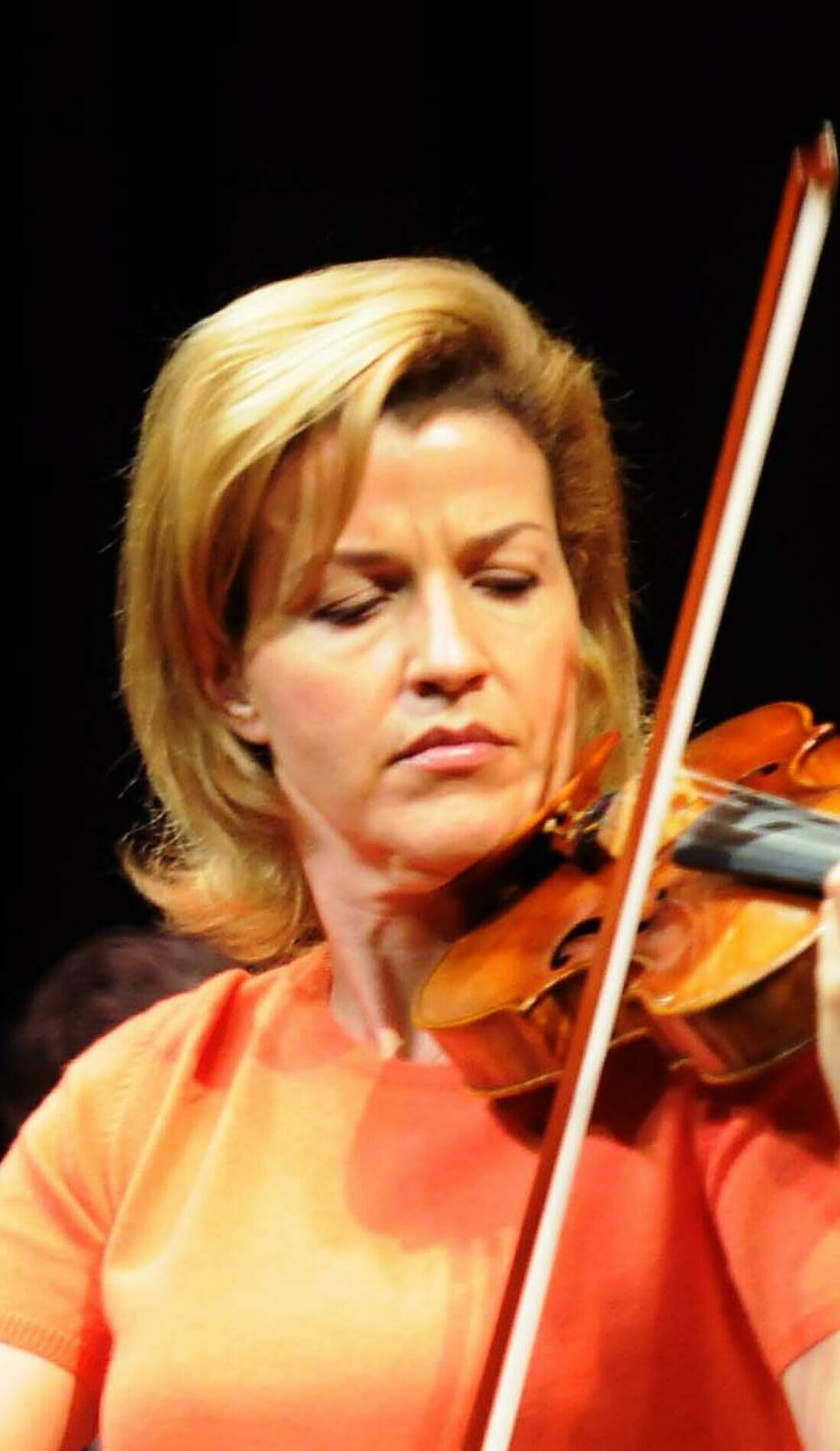 A Anne-Sophie Mutter live event