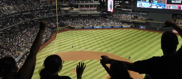 Map Of Arizona Diamondbacks Stadium.Chase Field Seating Chart Seatgeek