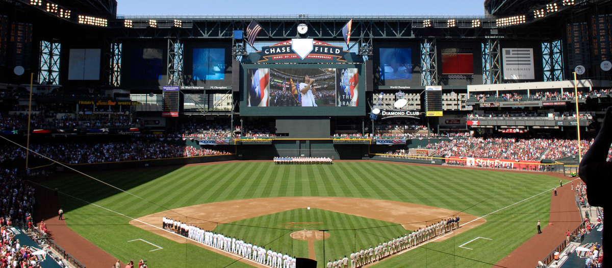Chase Field Seating Chart | SeatGeek on
