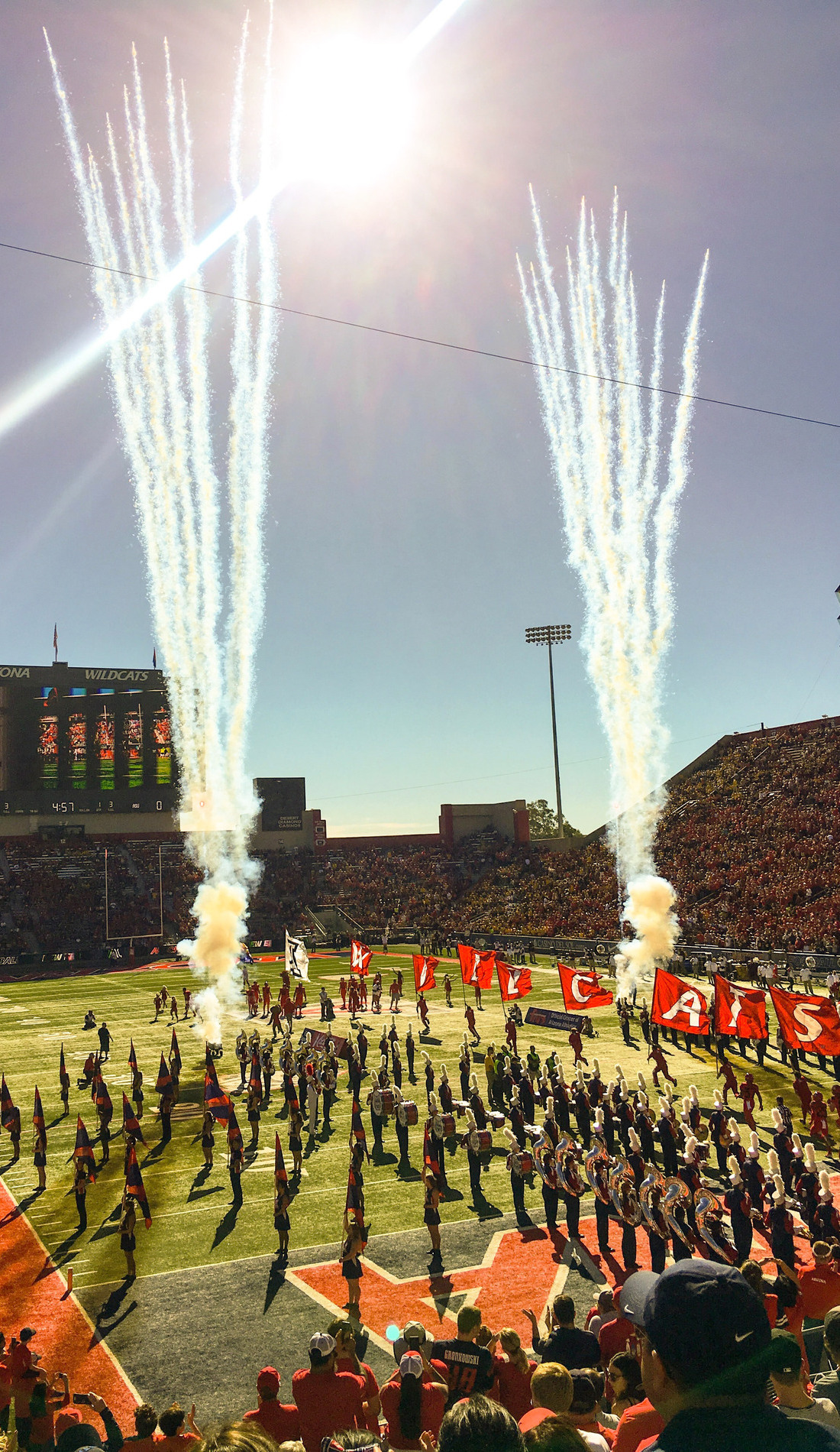 A Arizona Wildcats Football live event