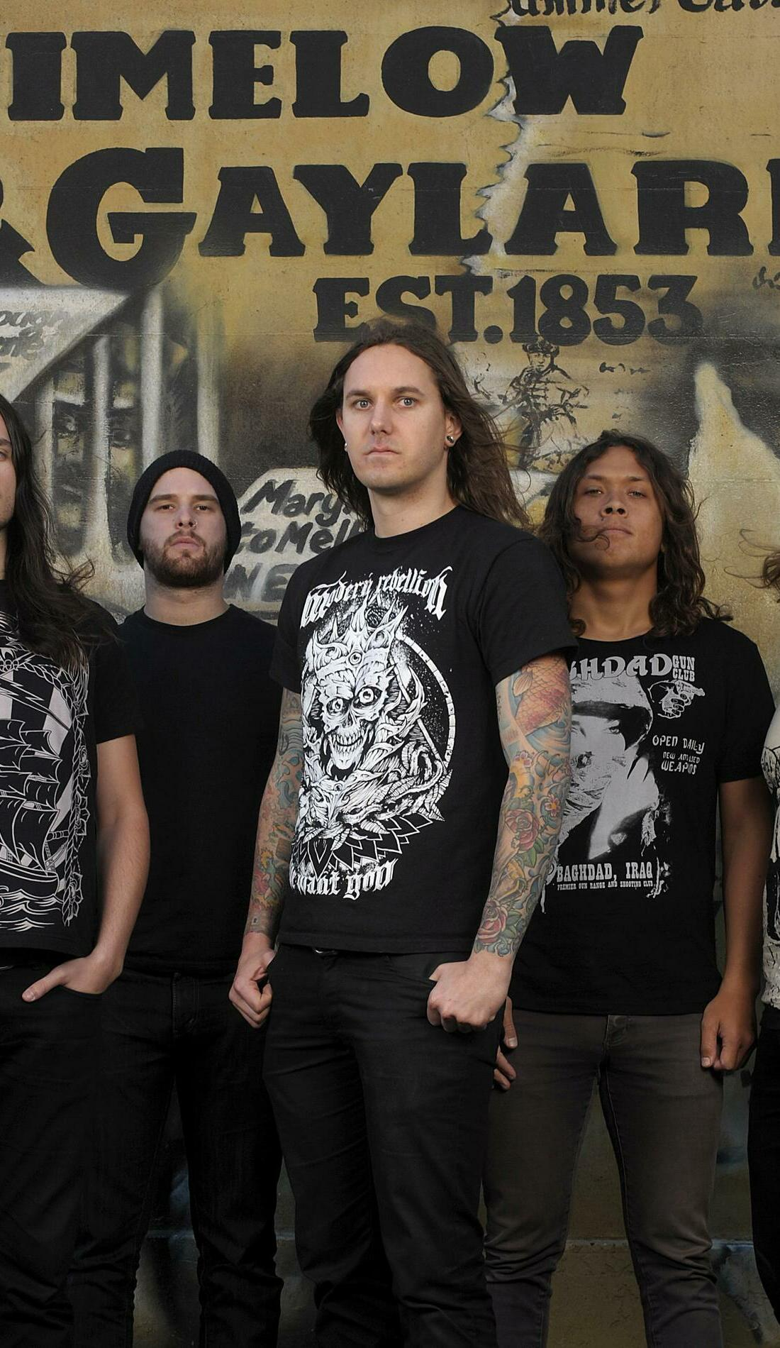 A As I Lay Dying live event