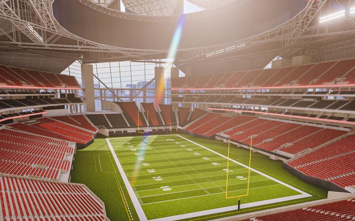 Atlanta Falcons Seating Chart Map Seatgeek