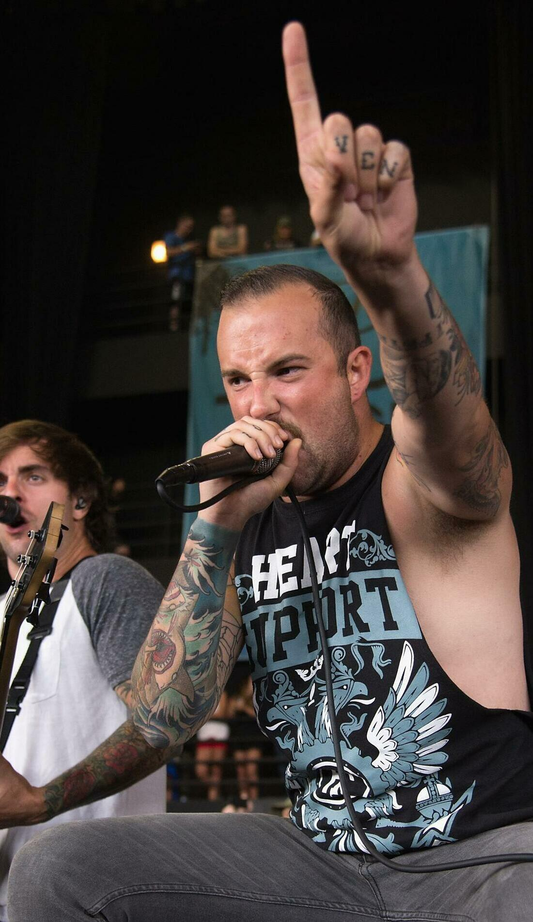 A August Burns Red live event