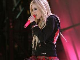 Avril Lavigne with Jagwar Twin