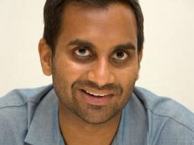 Aziz Ansari with Phil Hanley