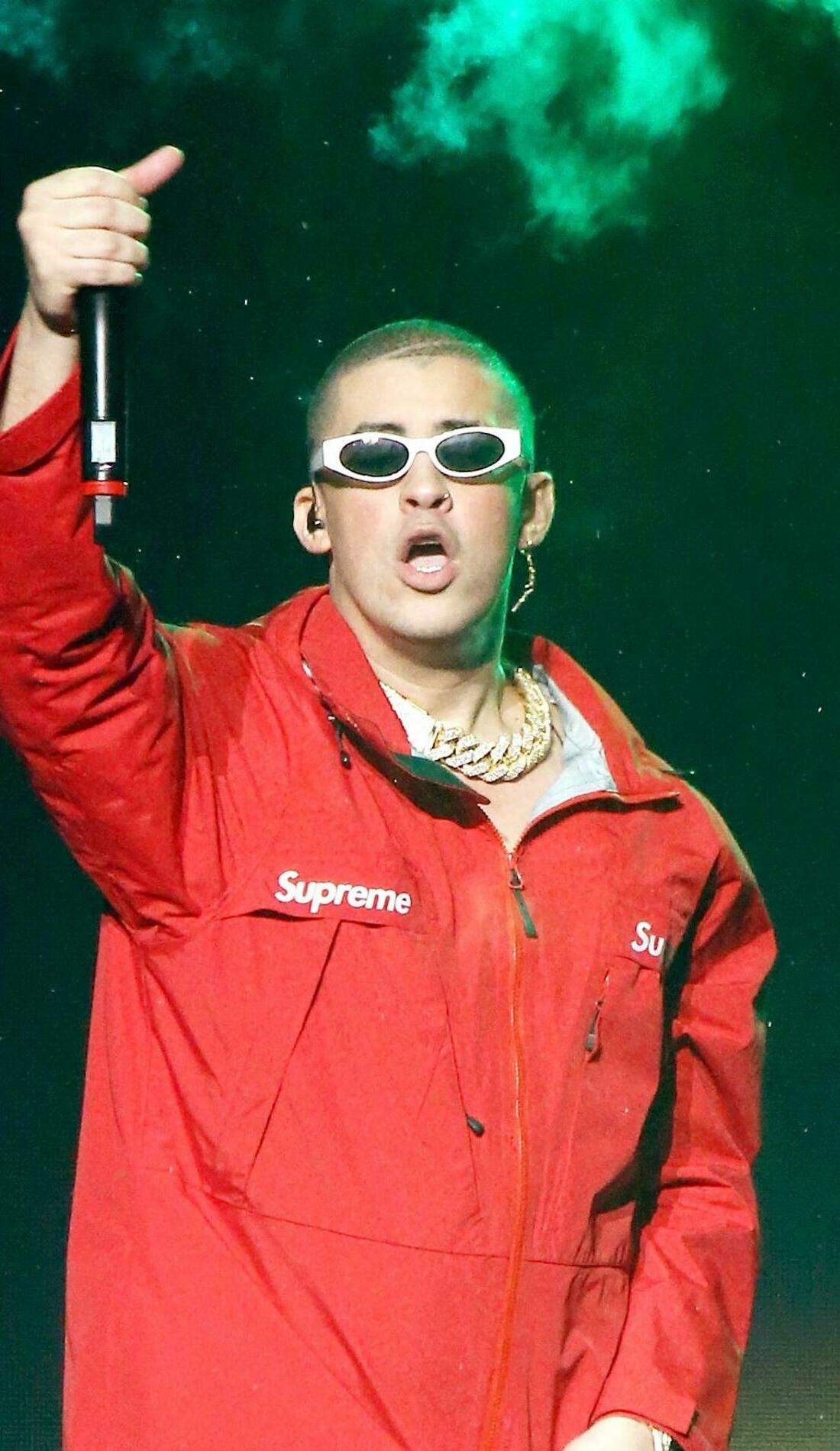 A Bad Bunny live event