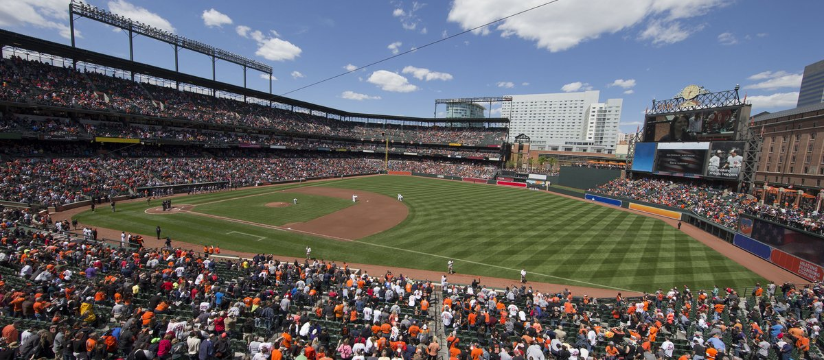 Oriole Park At Camden Yards Seating
