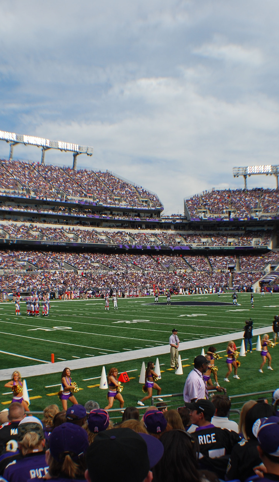 A Baltimore Ravens live event