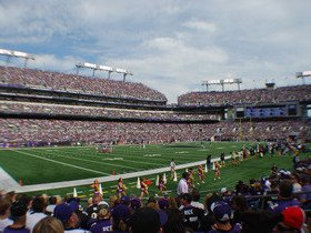 Oakland Raiders at Baltimore Ravens