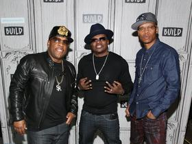 Bobby with New Edition and Bell Biv DeVoe and Ronnie DeVoe and RBRM