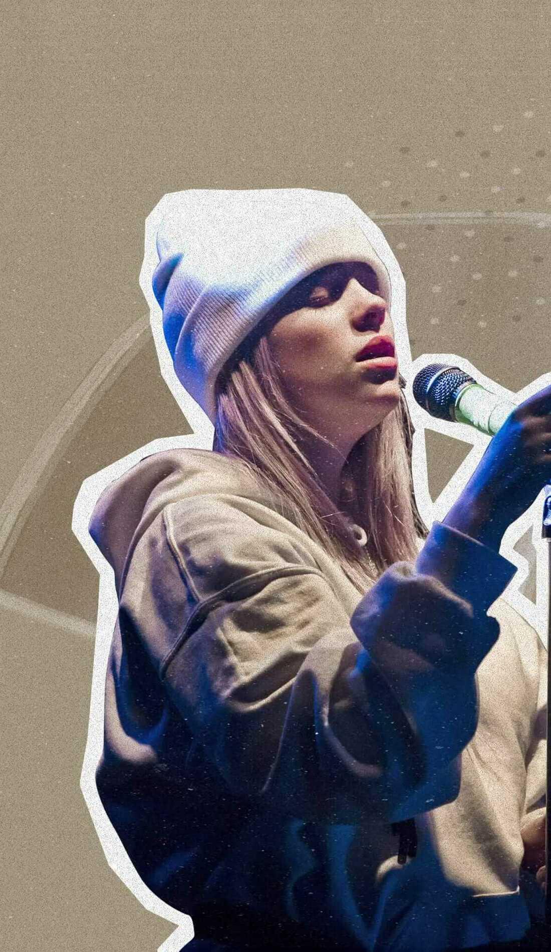 A Billie Eilish live event