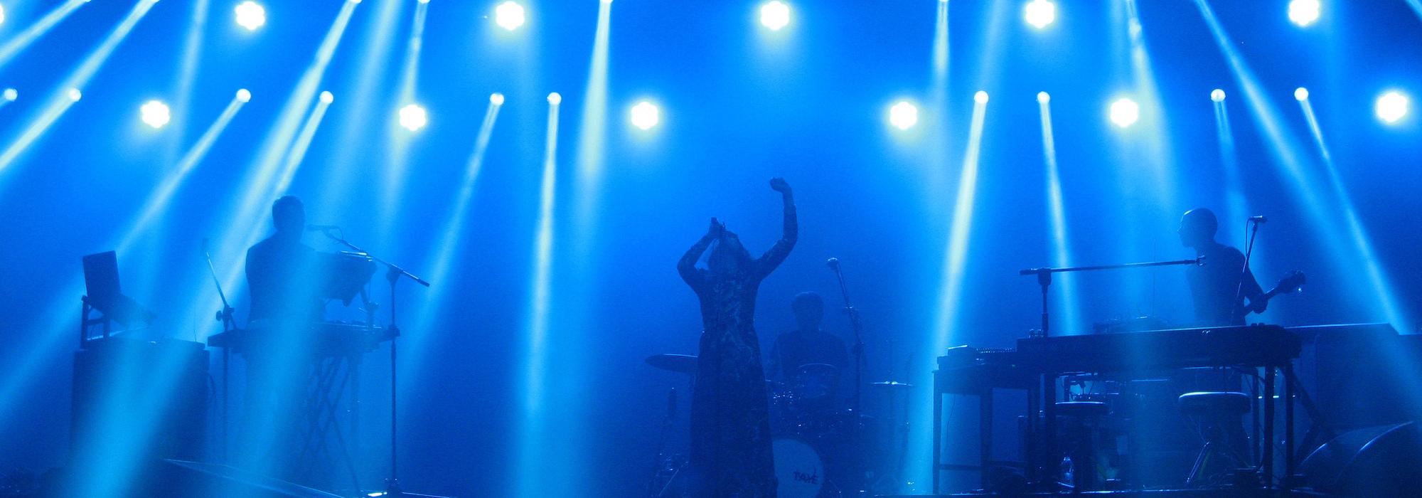 A Black Midi live event