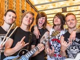 blessthefall with Escape The Fate