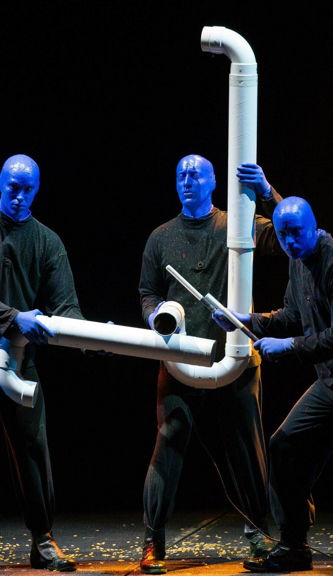 A Blue Man Group live event