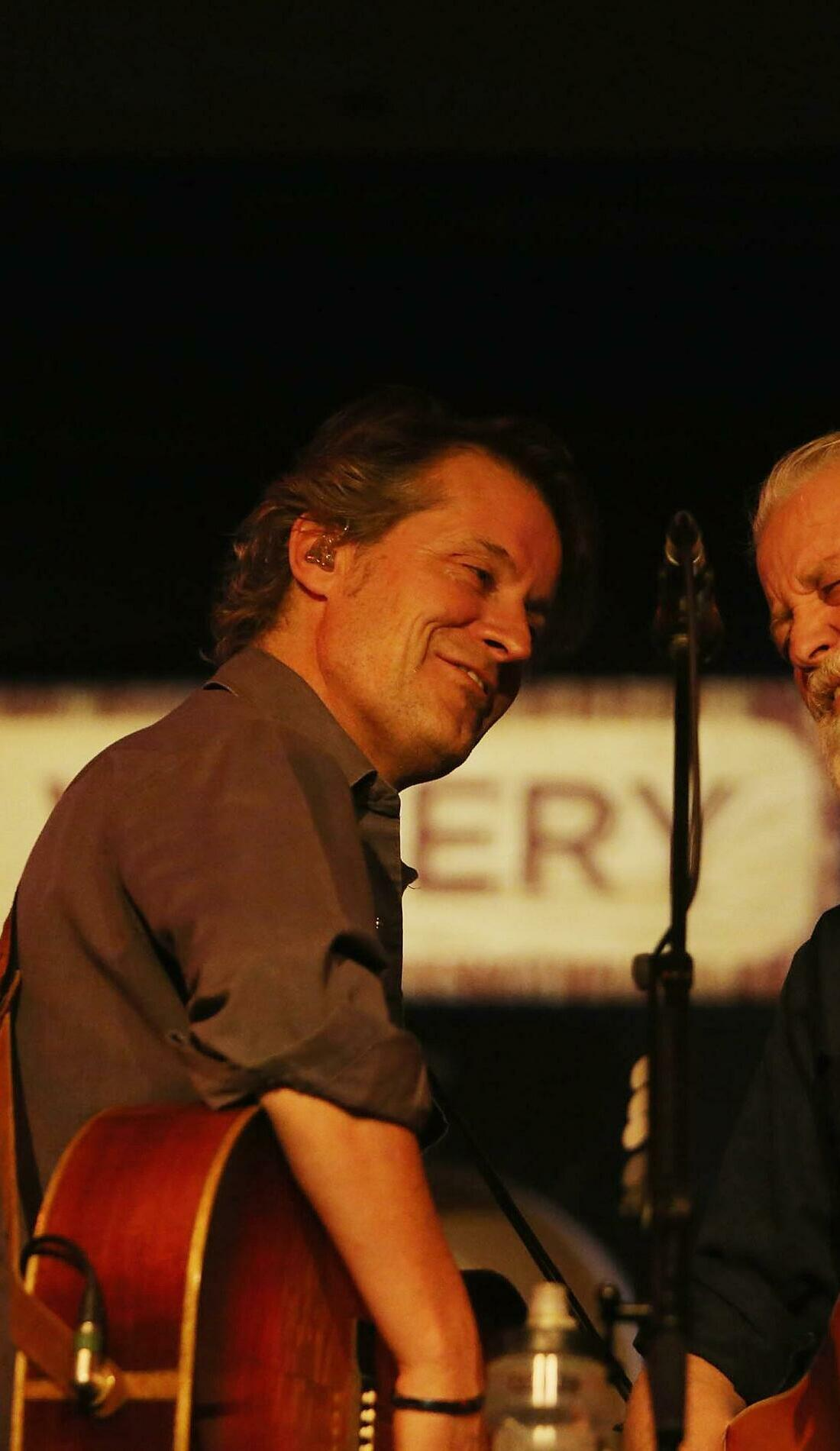 A Blue Rodeo live event