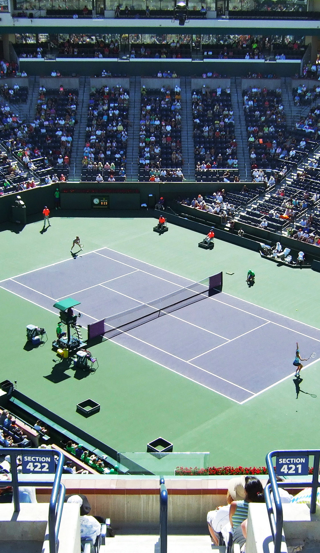 A BNP Paribas Open live event