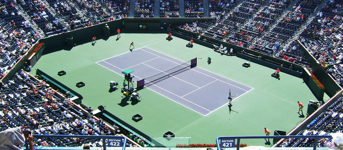 Stadium 1 at Indian Wells Tennis Garden Seating Chart   SeatGeek on happy map, my house map, us open court map, football field map, ranch map, pilates court map, bar map, waves map, tennis coaching, team map, classic map, pompeii map, horse map, waterfront map, security map, volleyball court map, red map, wimbledon map, badminton court map,