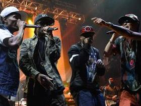 Tech N9ne with Ces Cru and Brotha Lynch Hung and Krizz Kaliko and Bone Thugs N Harmony