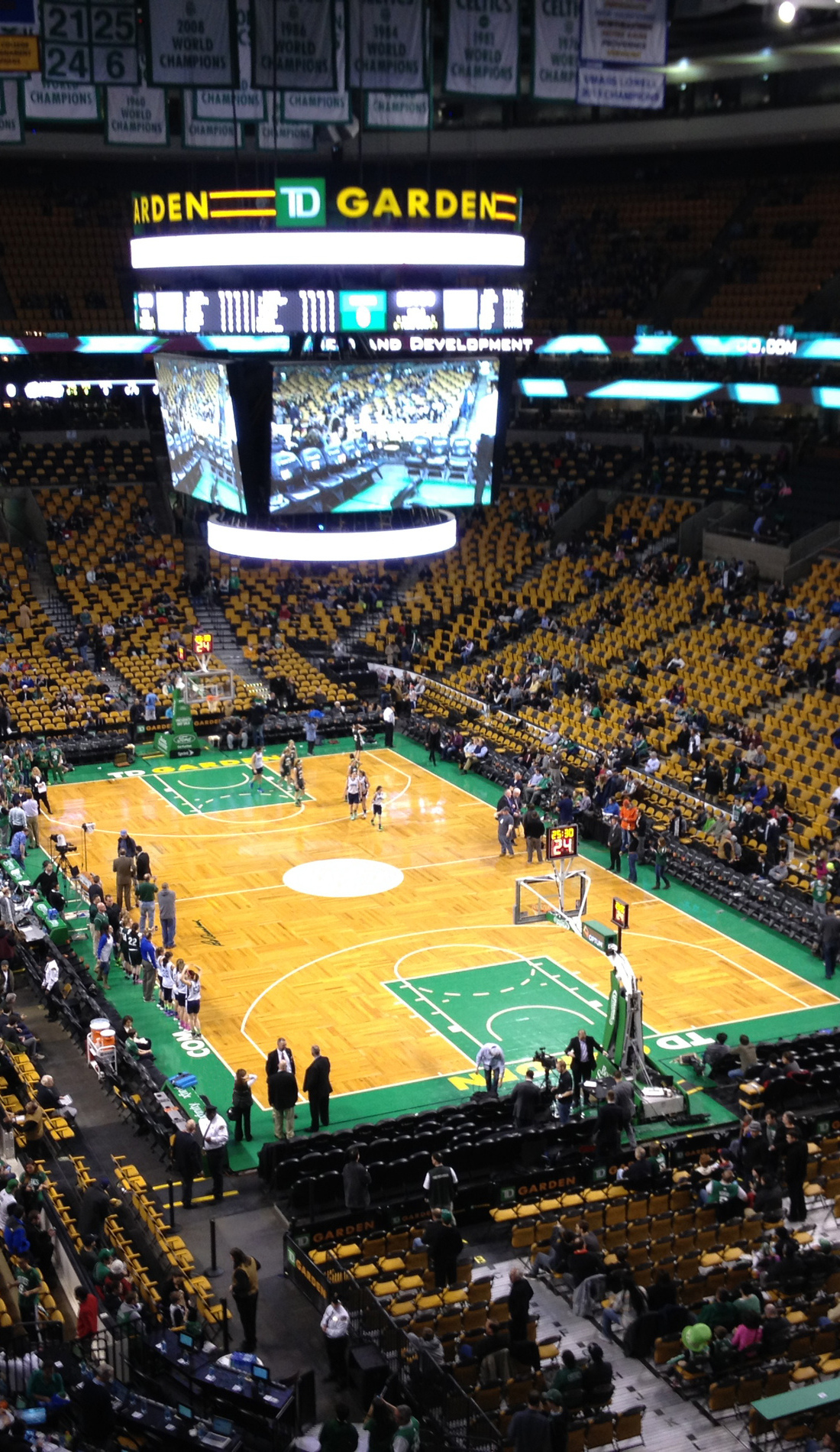 A Boston Celtics live event