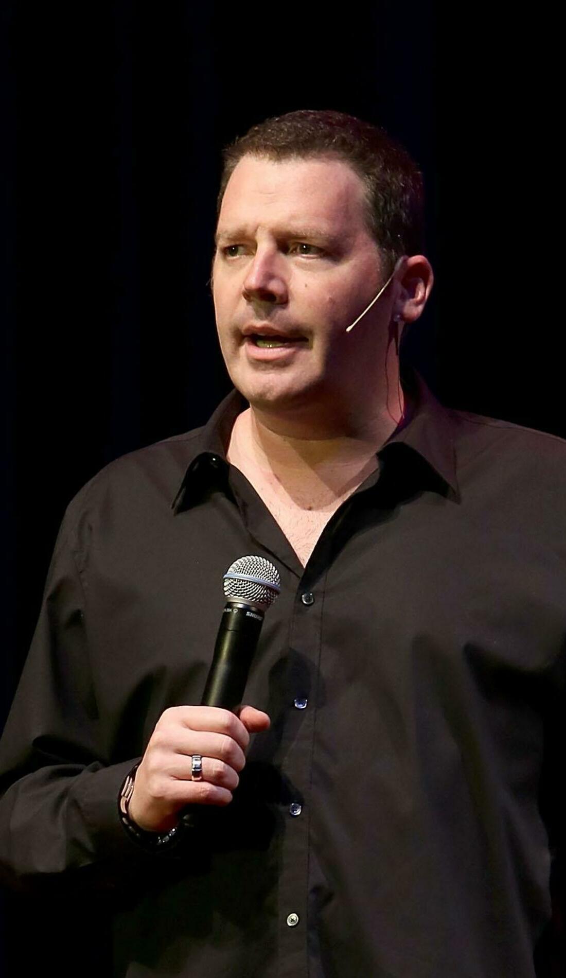 A Brad Sherwood live event