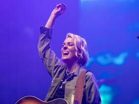 Brandi Carlile with Savannah Conley
