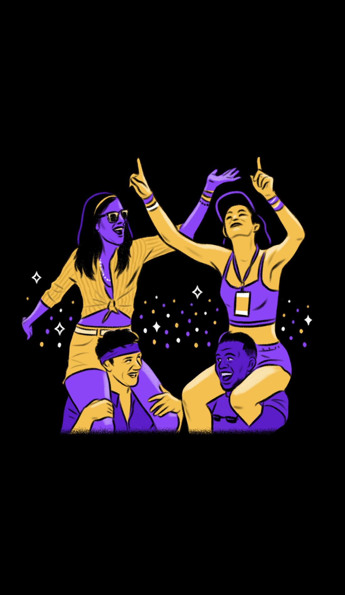 A Burning Man live event
