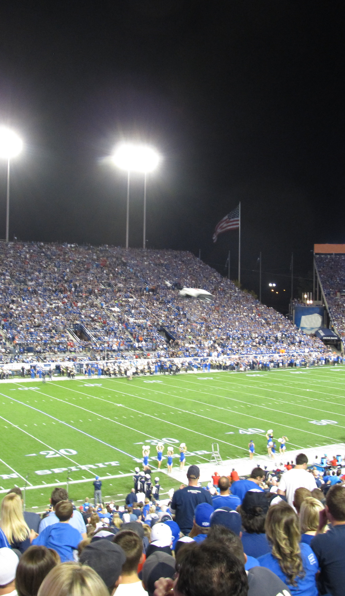 A BYU Cougars Football live event