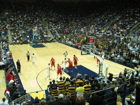 Stanford Cardinal at California Golden Bears Basketball