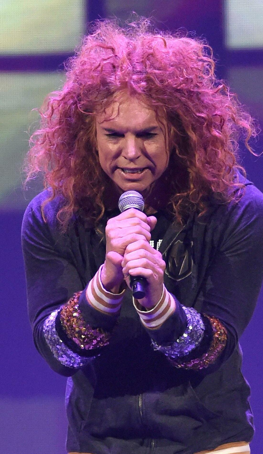 A Carrot Top live event