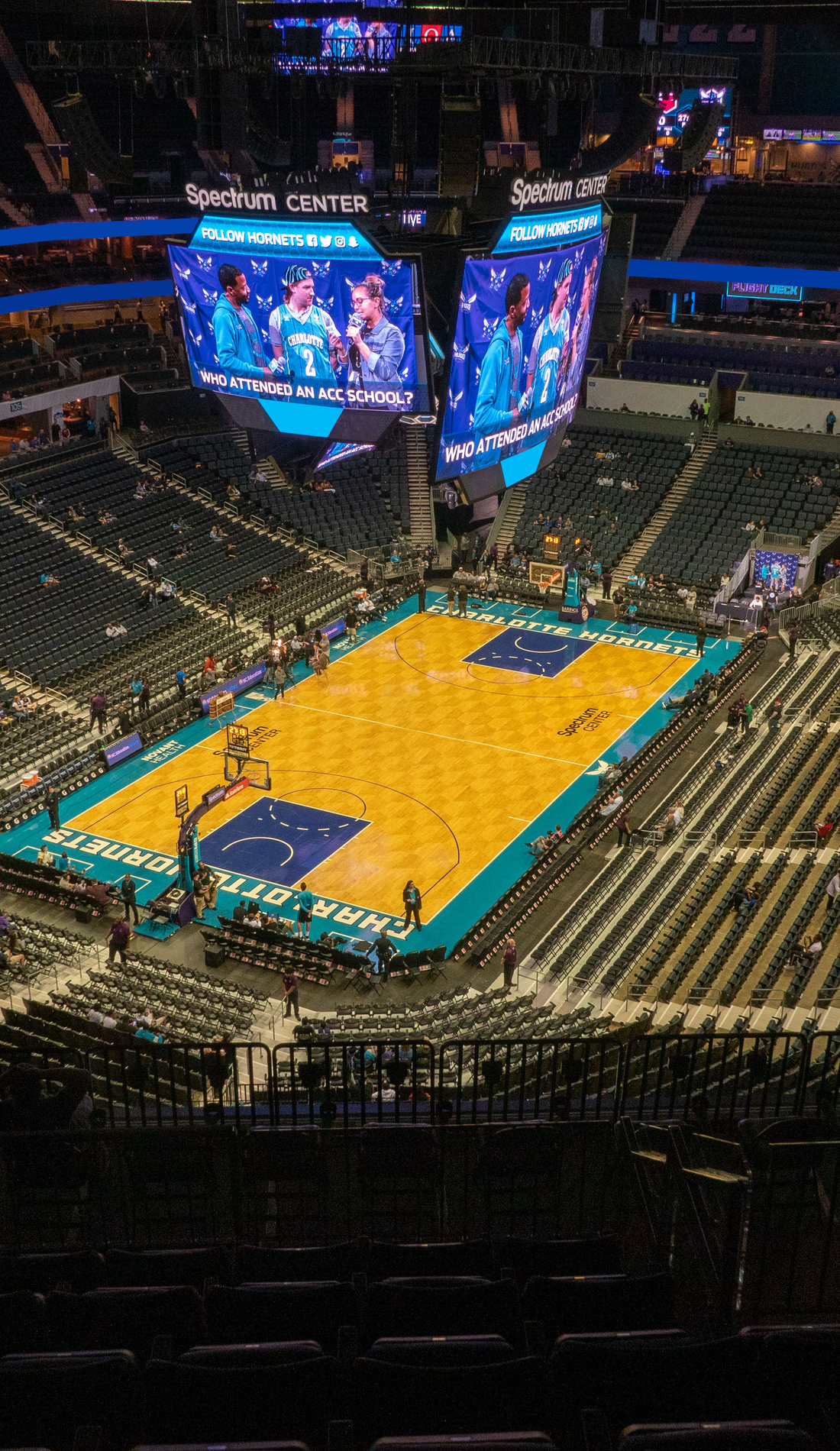 A Charlotte Hornets live event