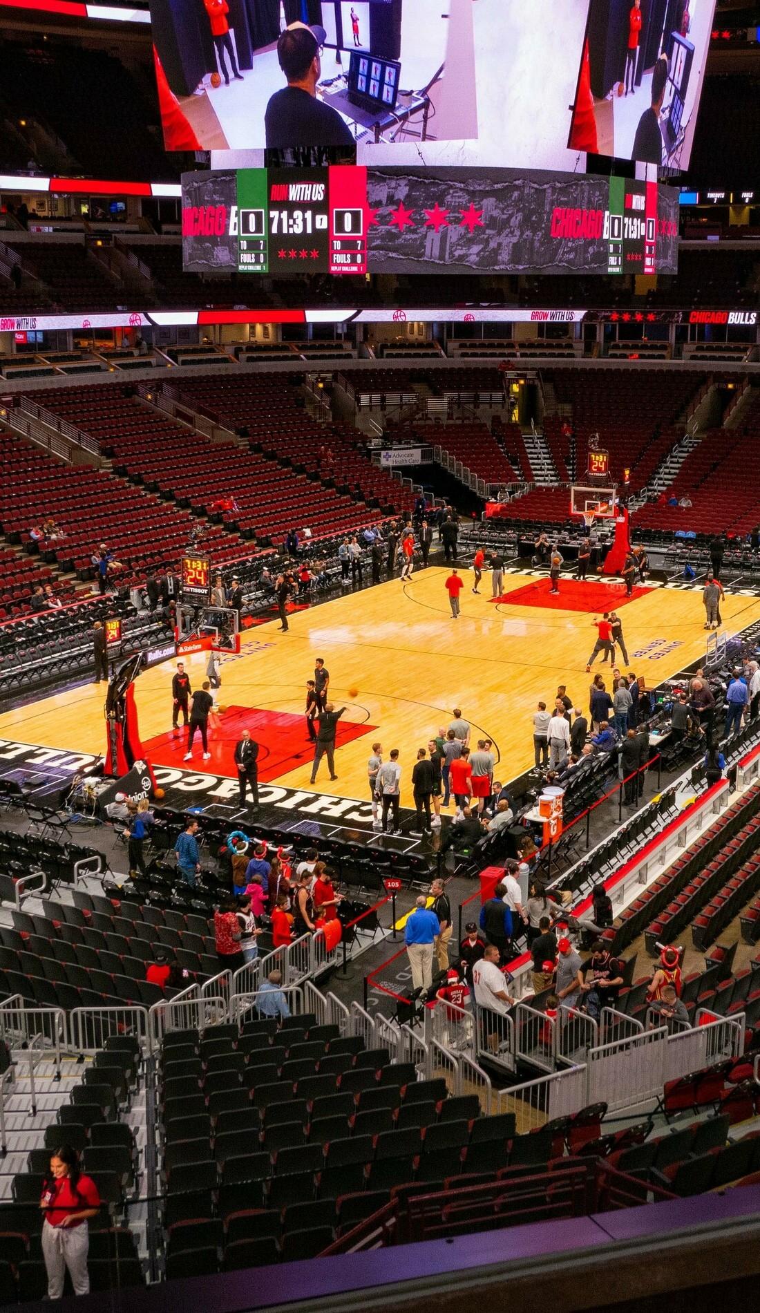 A Chicago Bulls live event