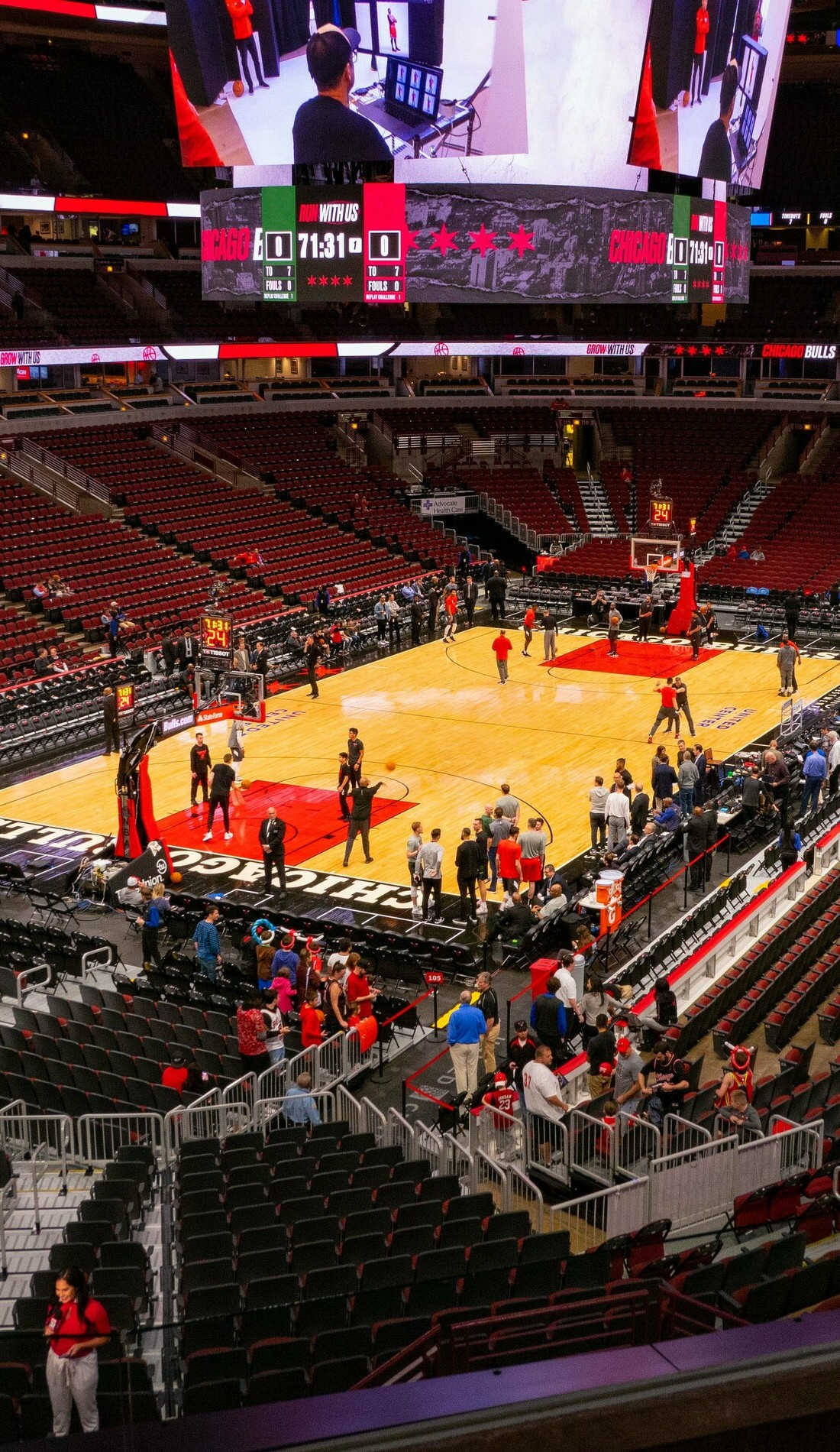 A Chicago Bulls live event