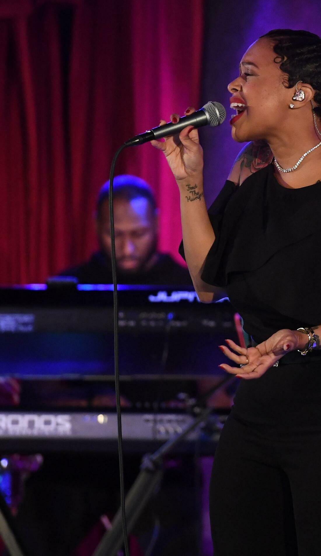 A Chrisette Michele live event