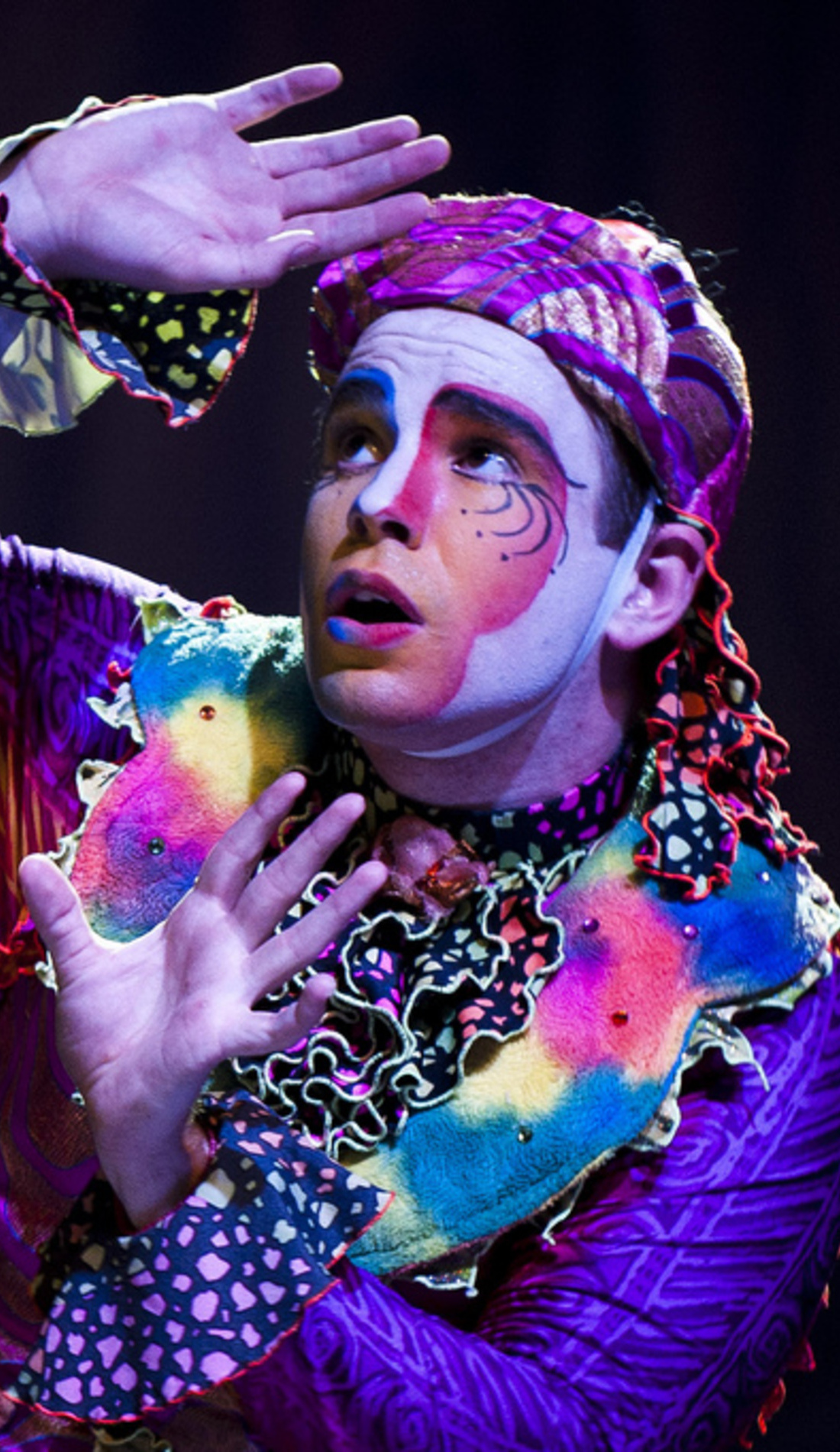 A Cirque Dreams Holidaze live event