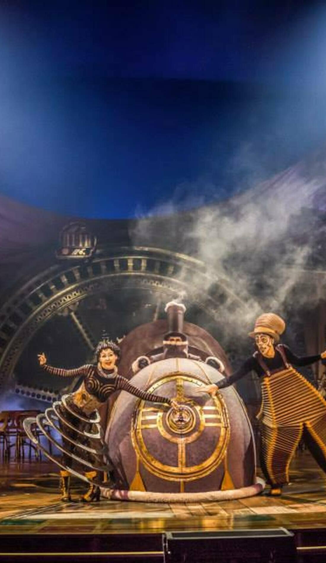 A Cirque du Soleil: Kurios live event
