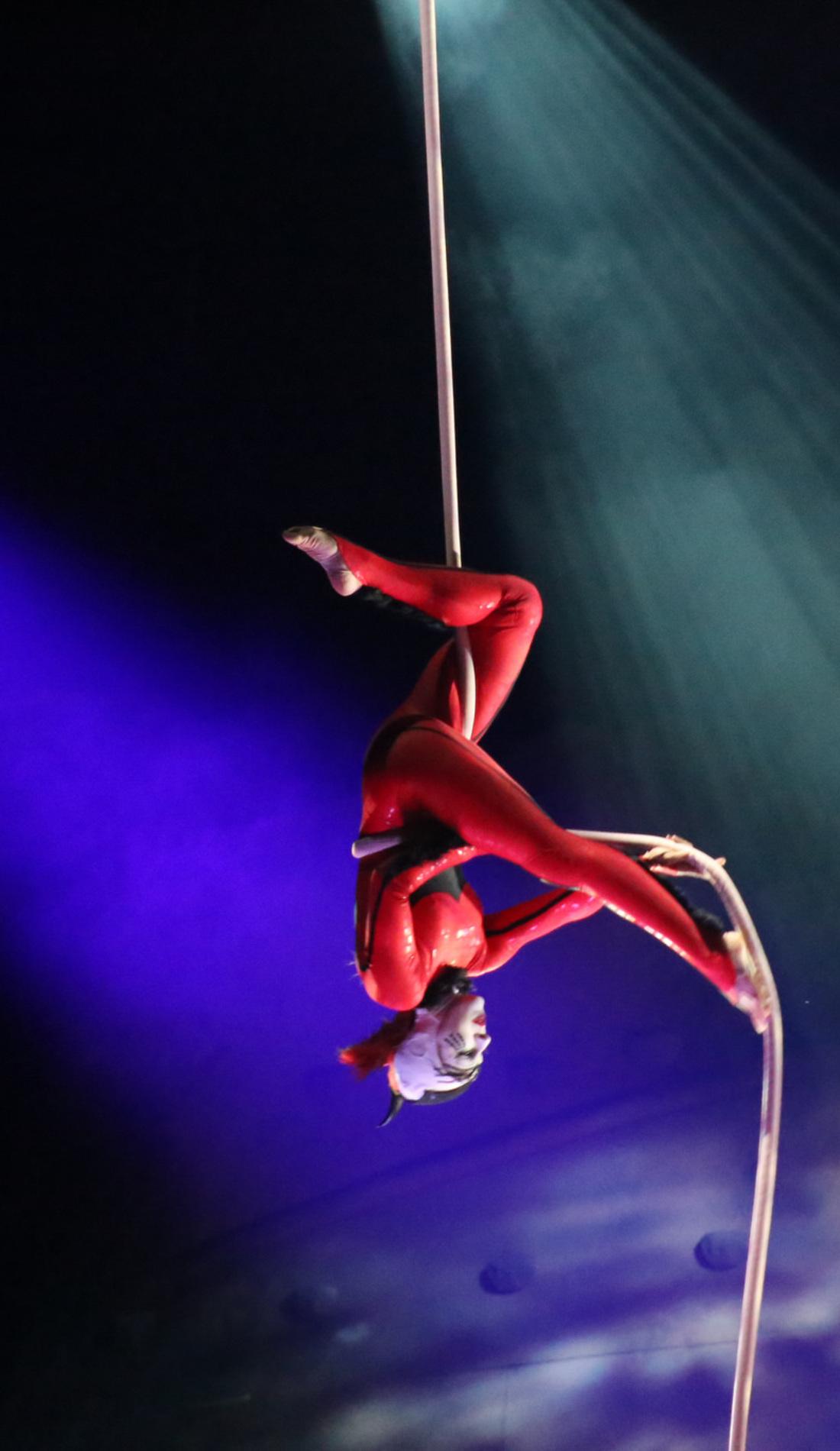 A Cirque du Soleil: Luzia live event