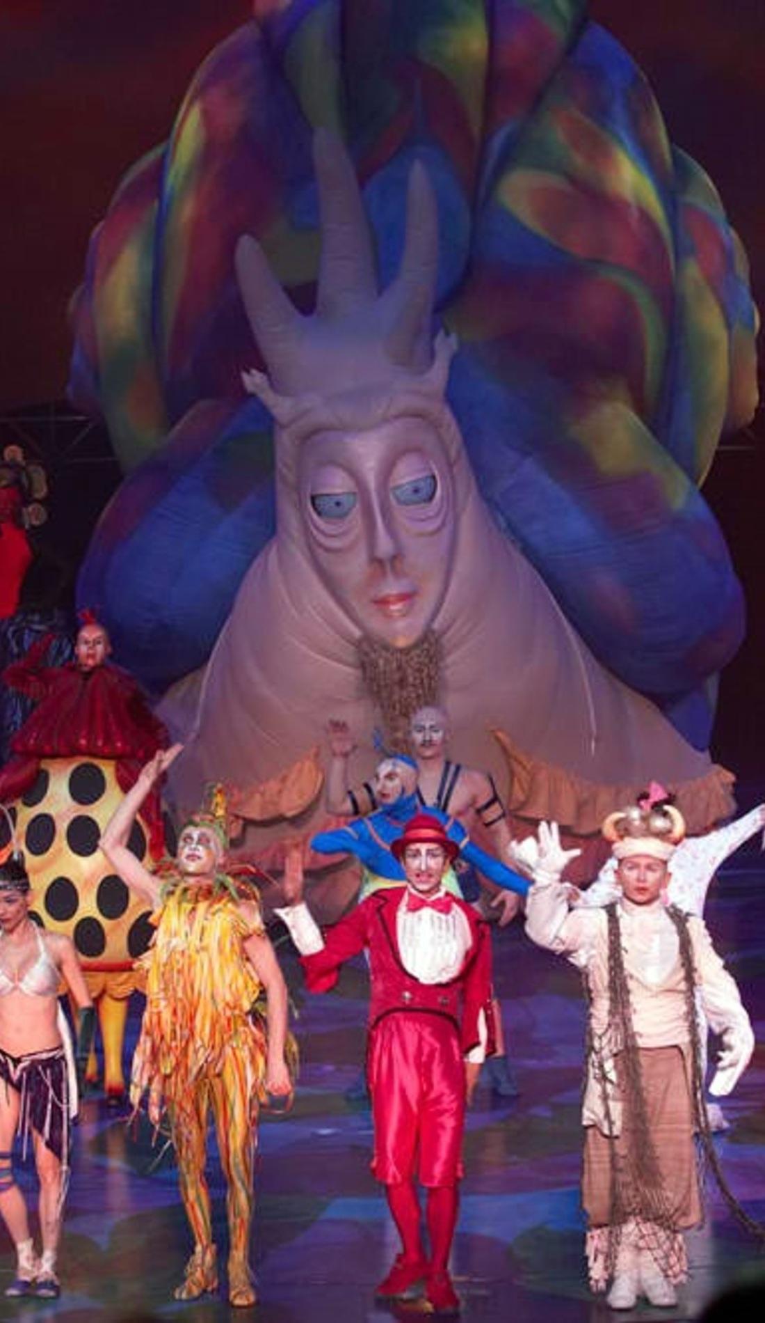 A Cirque du Soleil: Mystere live event