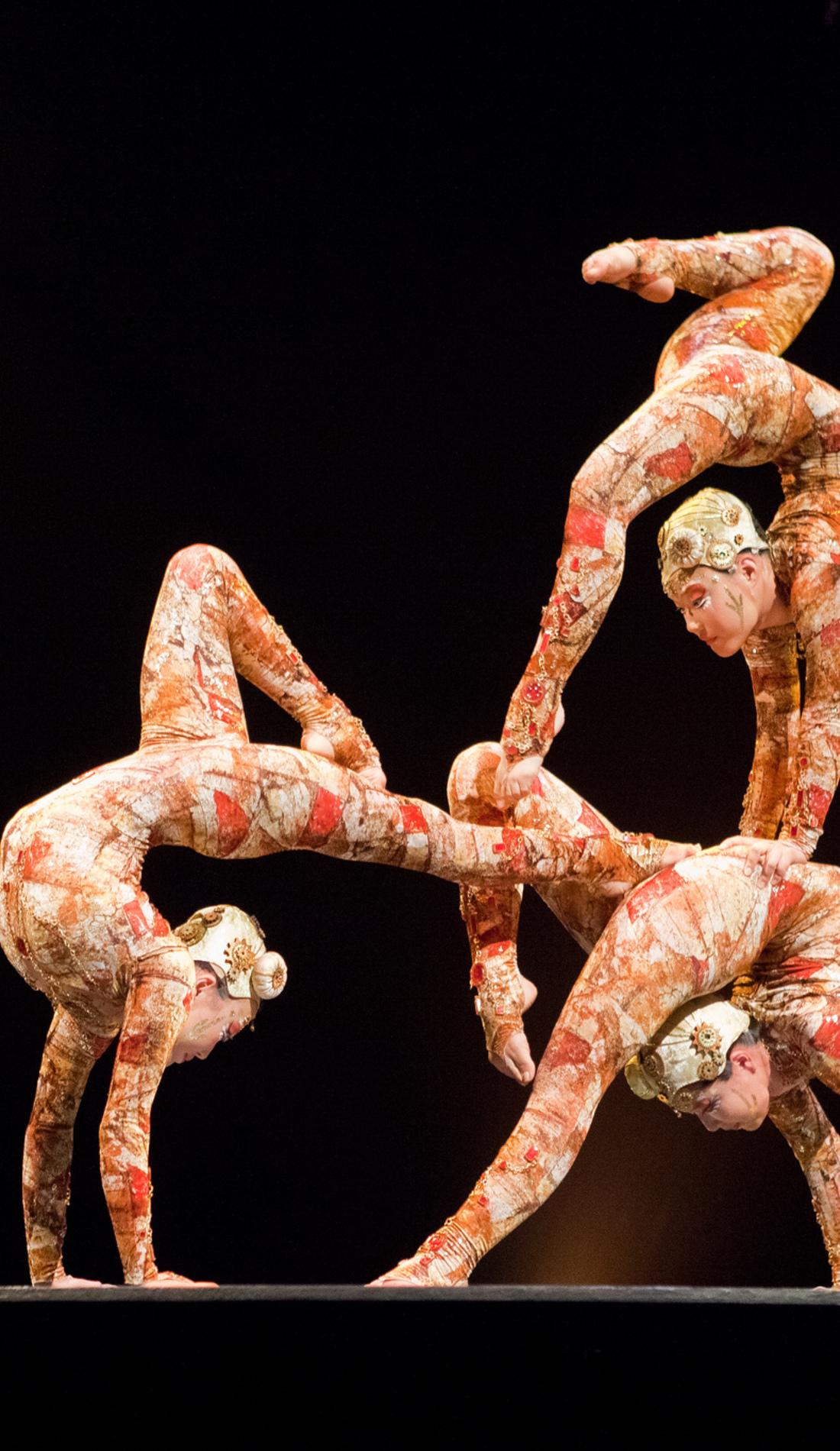A Cirque du Soleil: Volta live event