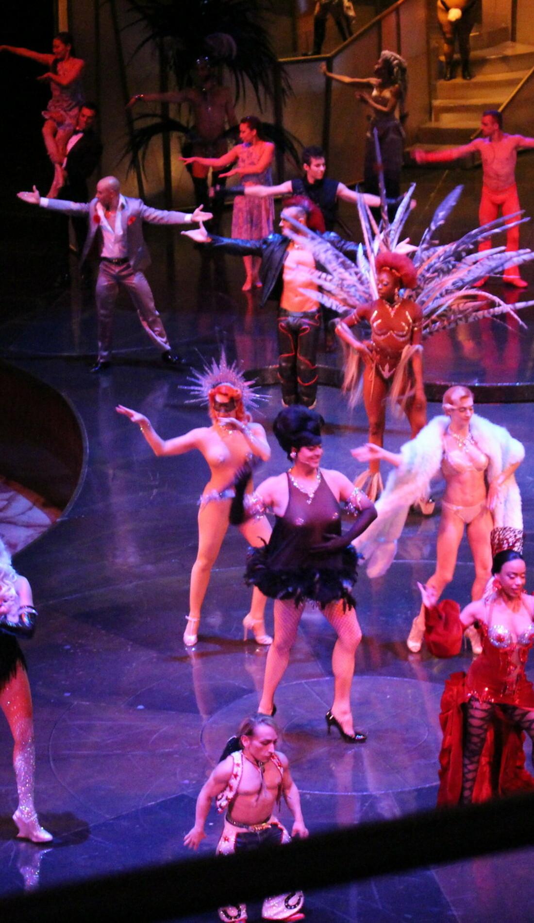 A Cirque du Soleil: Zumanity live event