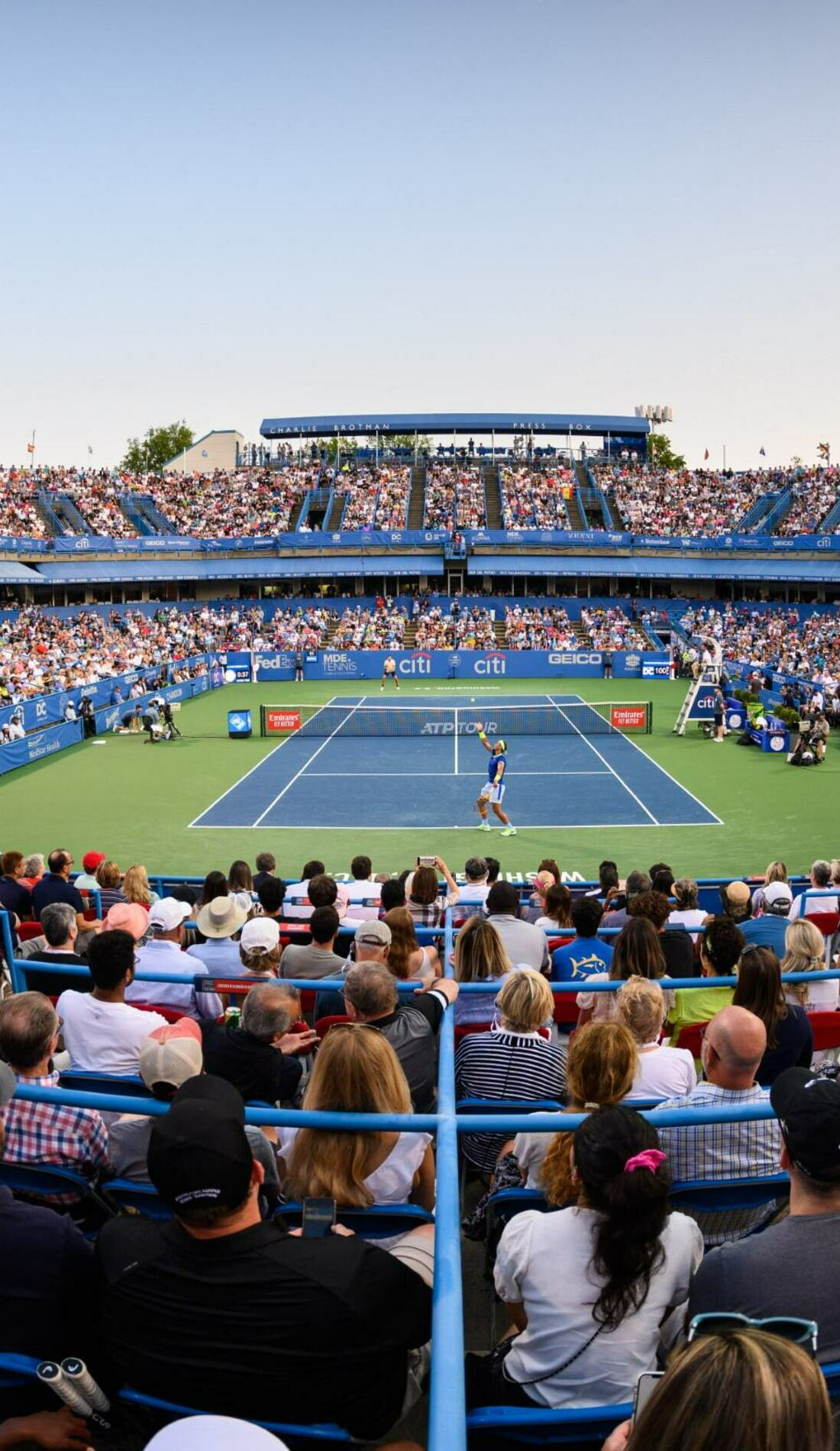 A Citi Open Tennis live event