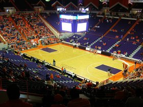 Nebraska Cornhuskers at Clemson Tigers Basketball